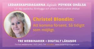 Christel Blondin Ledarskapsdagarna