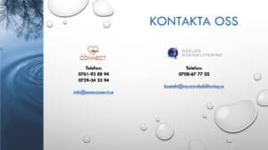 Kontakta SONA Connect Resurs Rehabilitering