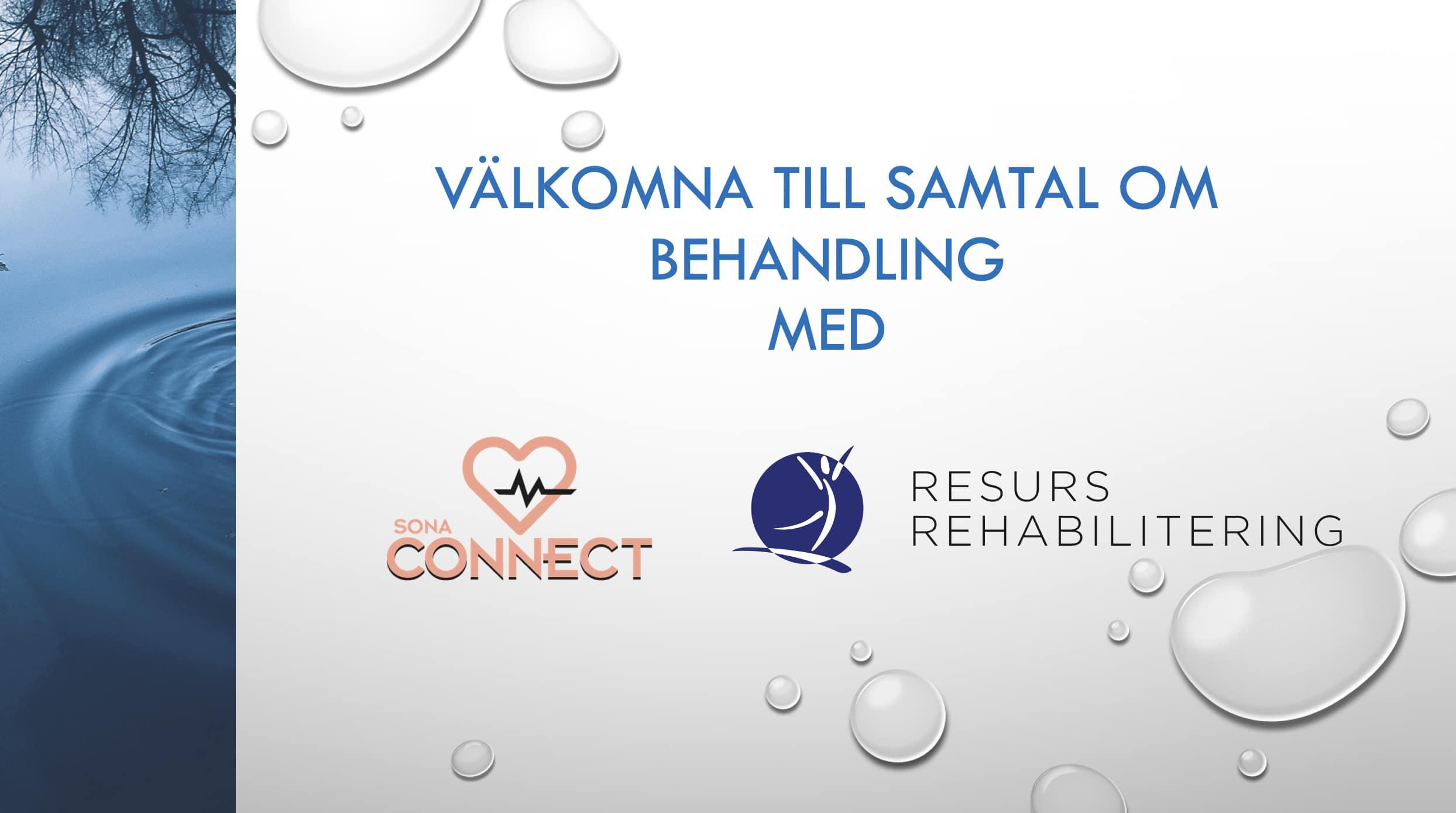 SONA Connect Resurs Rehabilitering